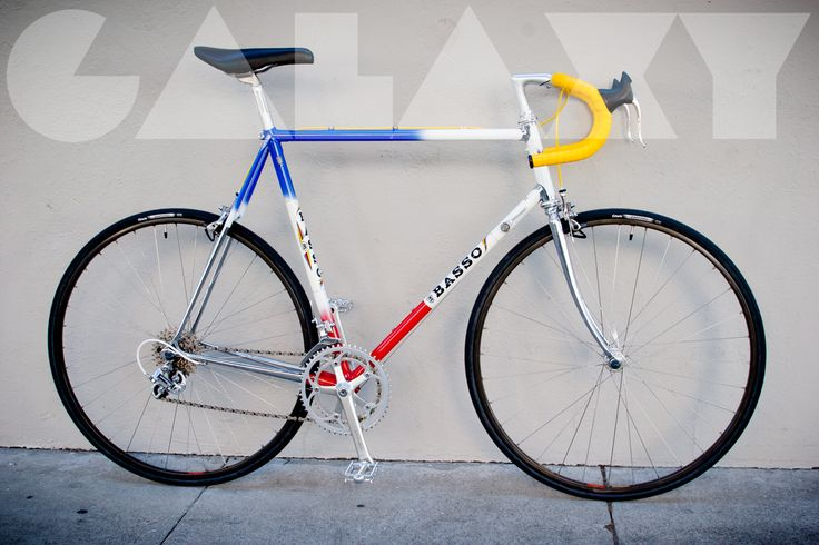 Vintage BASSO 60cm Road Bike – Columbus SLX / Shimano 600   GALAXY ...