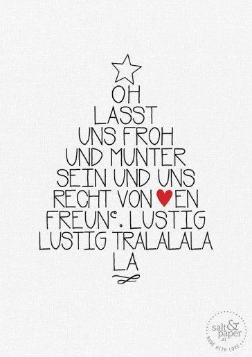 Weihnachten steht kurz vor der Türe . Mehr