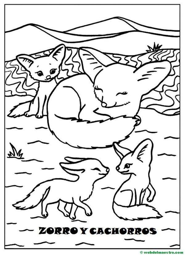 Dibujos Para Pintar Animales Y Sus Crias Web Del Maestro Animales Para Pintar Animales Y Sus Crias Animales Para Imprimir