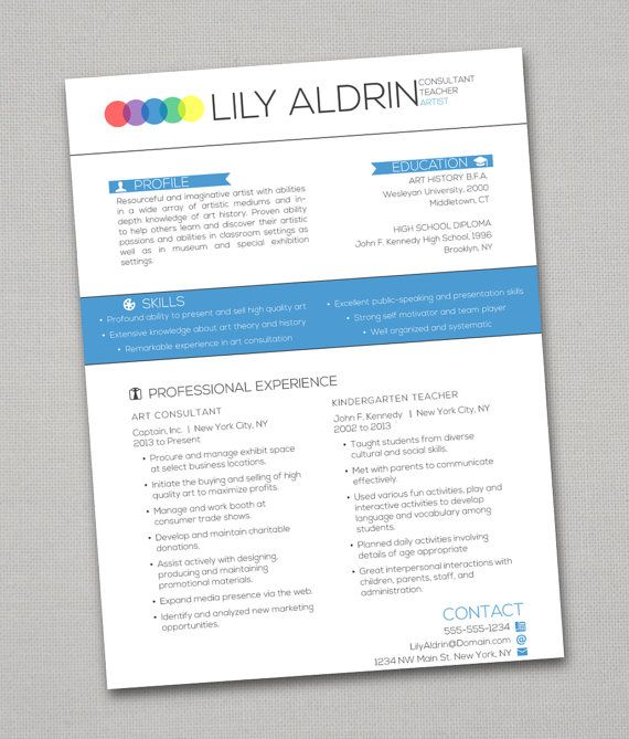 16 best creative awesome resumes images on