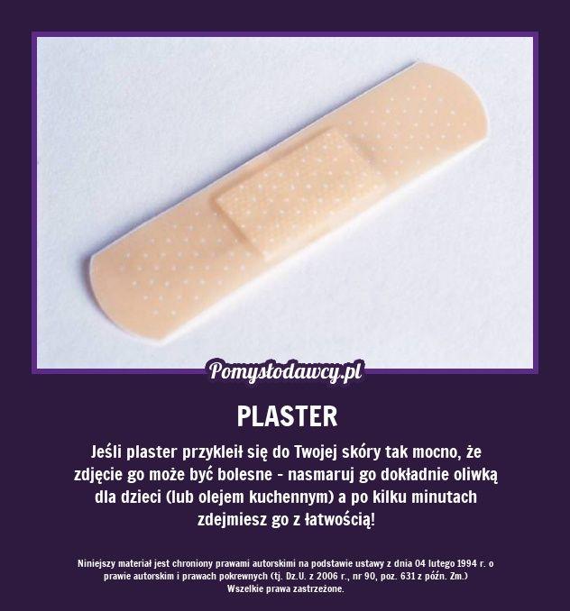 PROSTY TRIK NA BEZBOLESNE ZDJĘCIE PLASTRA
