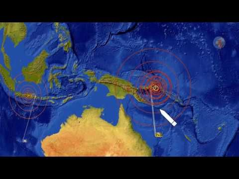 M 7 0 Earthquake New Britain Region 10-10-2018 - Warning Two