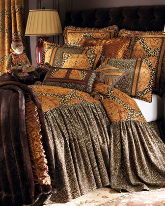 "the monkey is a must! ""Kalahari"" Bed Linens. From Sweet"