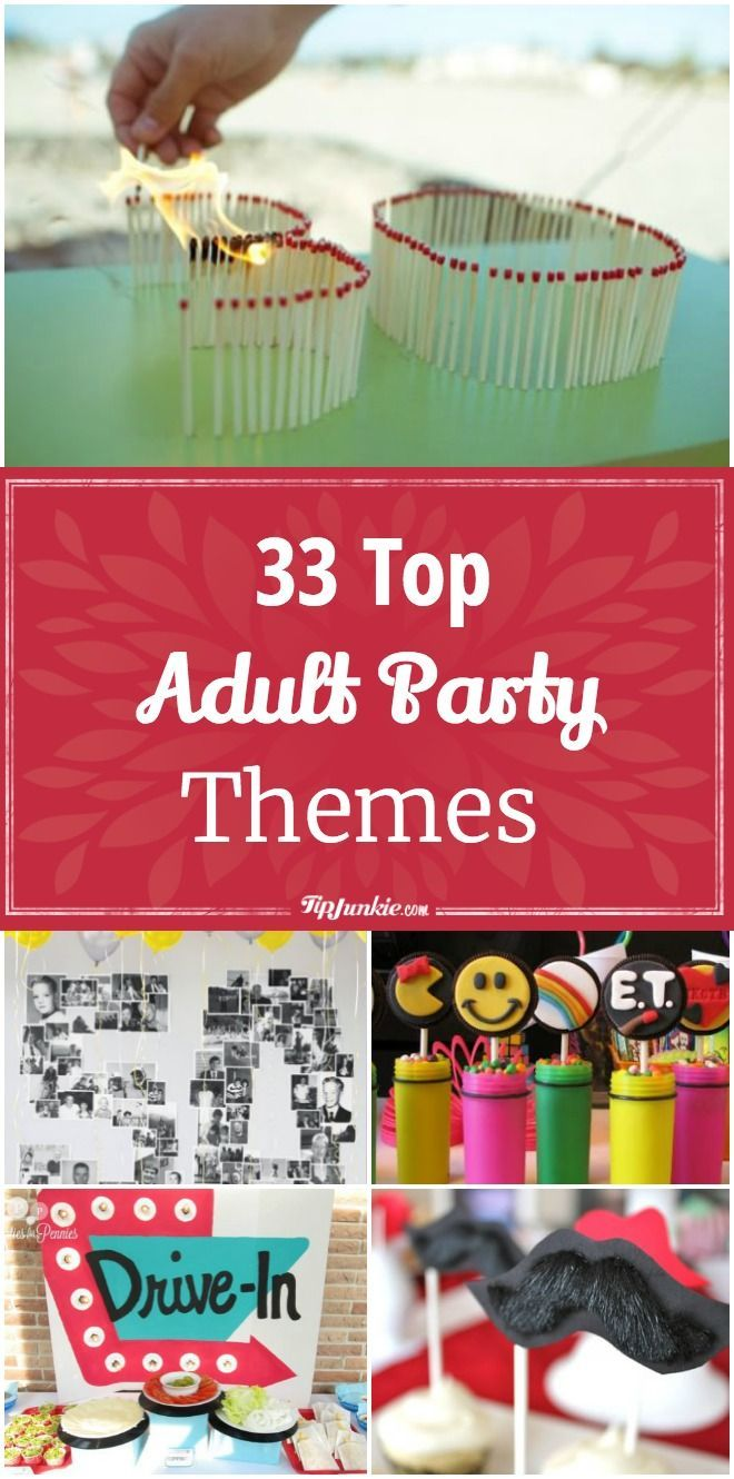 358 Best Adult Birthday Party Ideas 30Th, 40Th, 50Th, 60Th Billeder på-7743