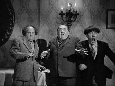 Curly Larry and Moe the Three stooges! | The Three Stooges ...