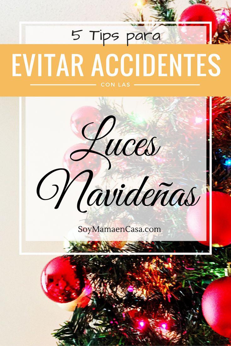 5 tips para evitar accidentes con las luces navideñas