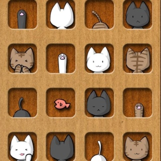 Kitty cats!!: Cat Art, Iphone Wallpapers, Kitty Cats, Iphone Backgrounds, Illustration, Card, Cat Cat, People
