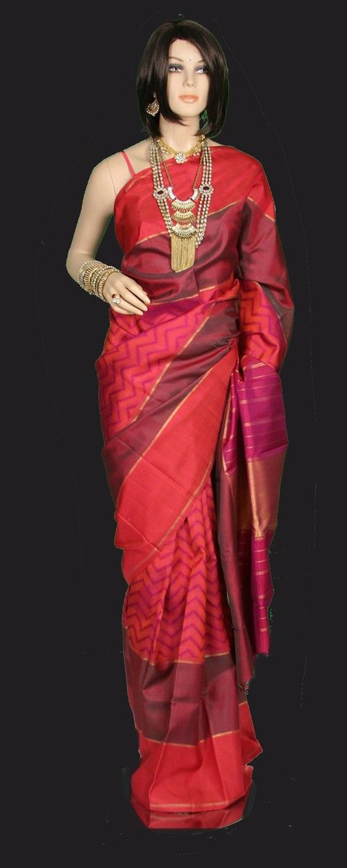 A001i55 - Kanjeevaram Sarees impressions for your wedding idea.....!@!@ #covaiweddingshoppers