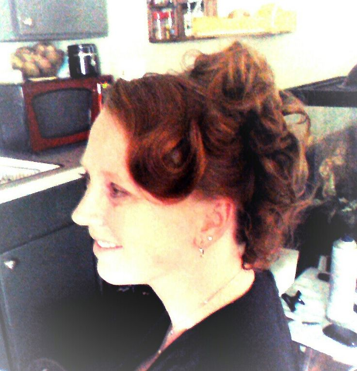 Up do - front