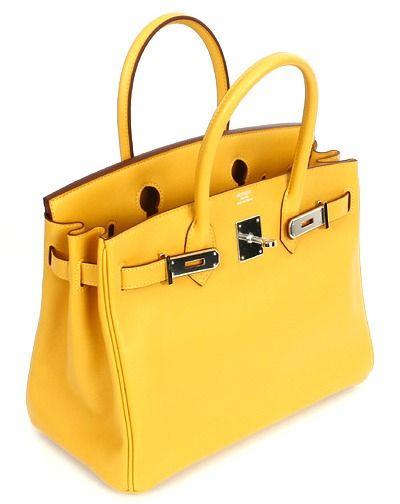 Birkin Hermes Yellow