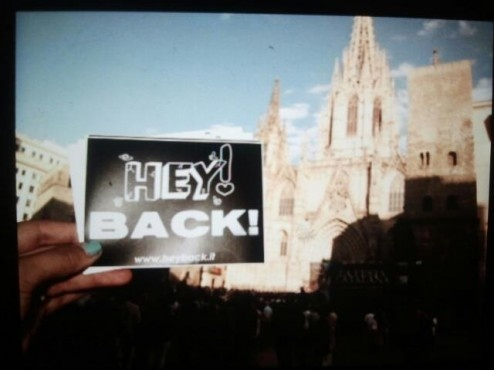 HEY! BACK! in Barcelona