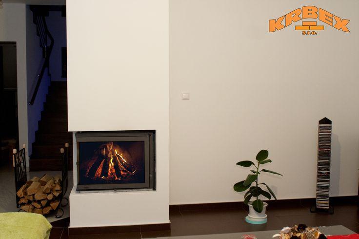 Krbová vložka v realizácií firmy KRBEX s.r.o.  http://krbex.sk/eshop  #krb #fireplace