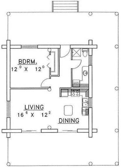 6416 best compact small houses cottages trailer homes for Planos de construccion