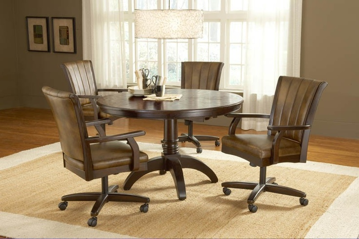 Hillsdale Grand Bay Cherry 5 Piece Round Dining Set With