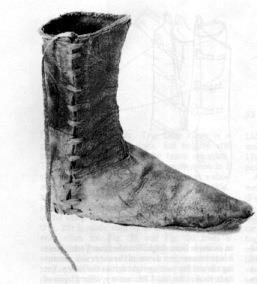 Обувь 14 век