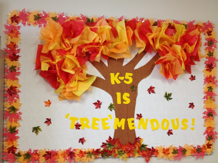 138 best images about bulletin board ideas on pinterest for Fall bulletin board ideas