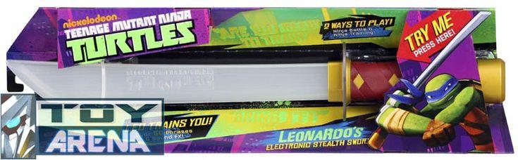 teenage mutant ninja turtles leonardo's stealth sword weapon tmnt #transformer