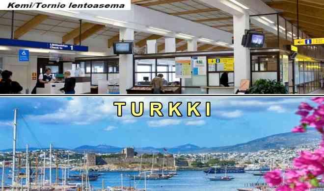Kemistä Turkkiin