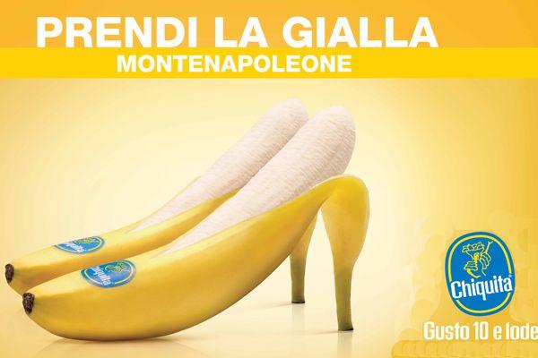 Chiquita adv by Armando Testa