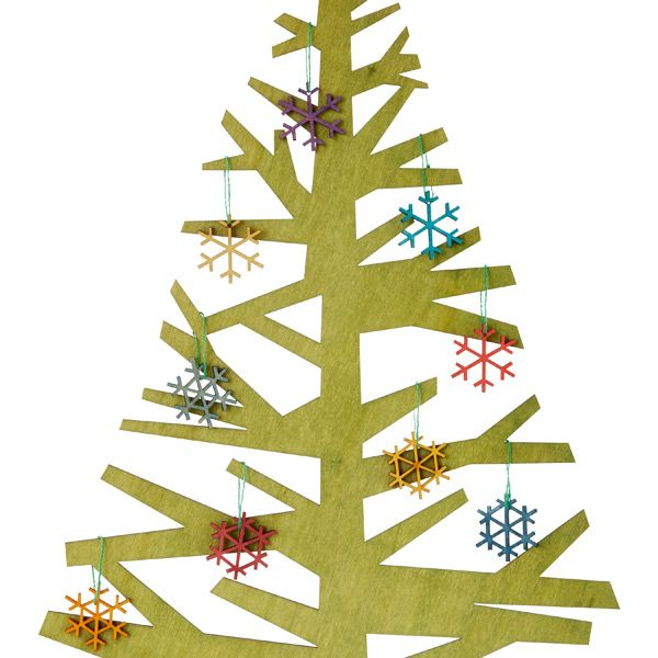 Create your own winter wonderland with by decorating our Alpine Trees with our colorful Alpine Ornaments.