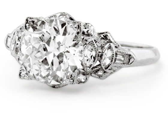 31 best Antique Diamond rings and things images on ...