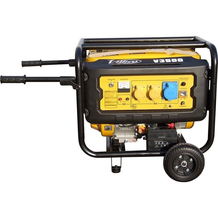 Villiers V3500ES 3.5kW Silent Petrol Generator - Petrol Silent Generators from pump.co.uk - W.Robinson & Sons (Ec) Ltd UK