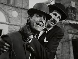 Franco Franchi and Ciccio Ingrassia, actors like Stan Laurel and Oliver Hardy...