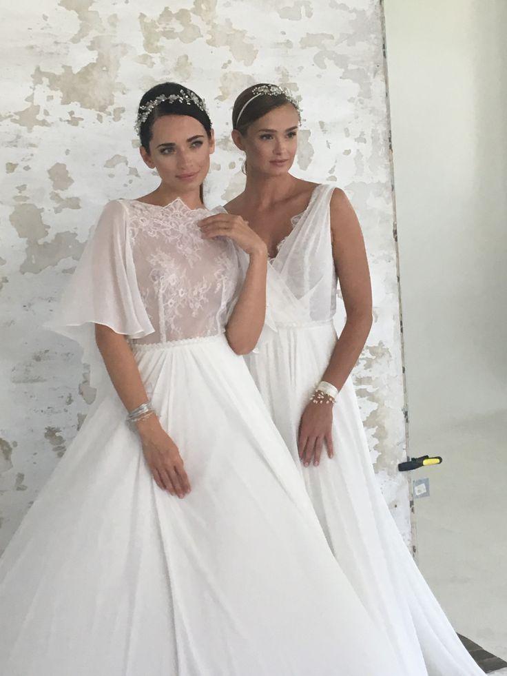 Amazing wedding dress from Mia Lavi. Lace dress are so beautiful.