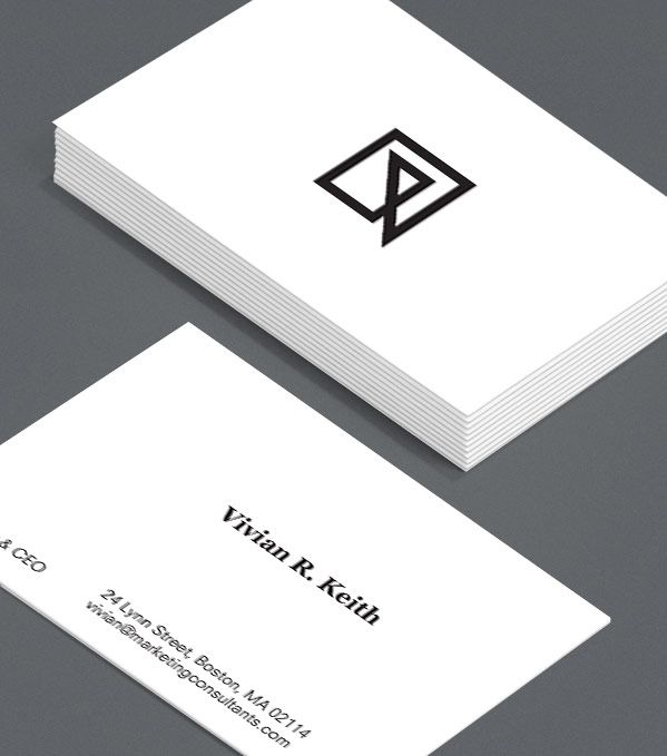 Crisply Done: this crisp, confident design gives your business's branding top…