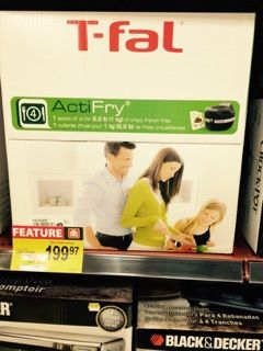 T-Fal ACTI-Fry sale !! Great for cooking fries, granola, chicken wings, and much more!! Come check them out!