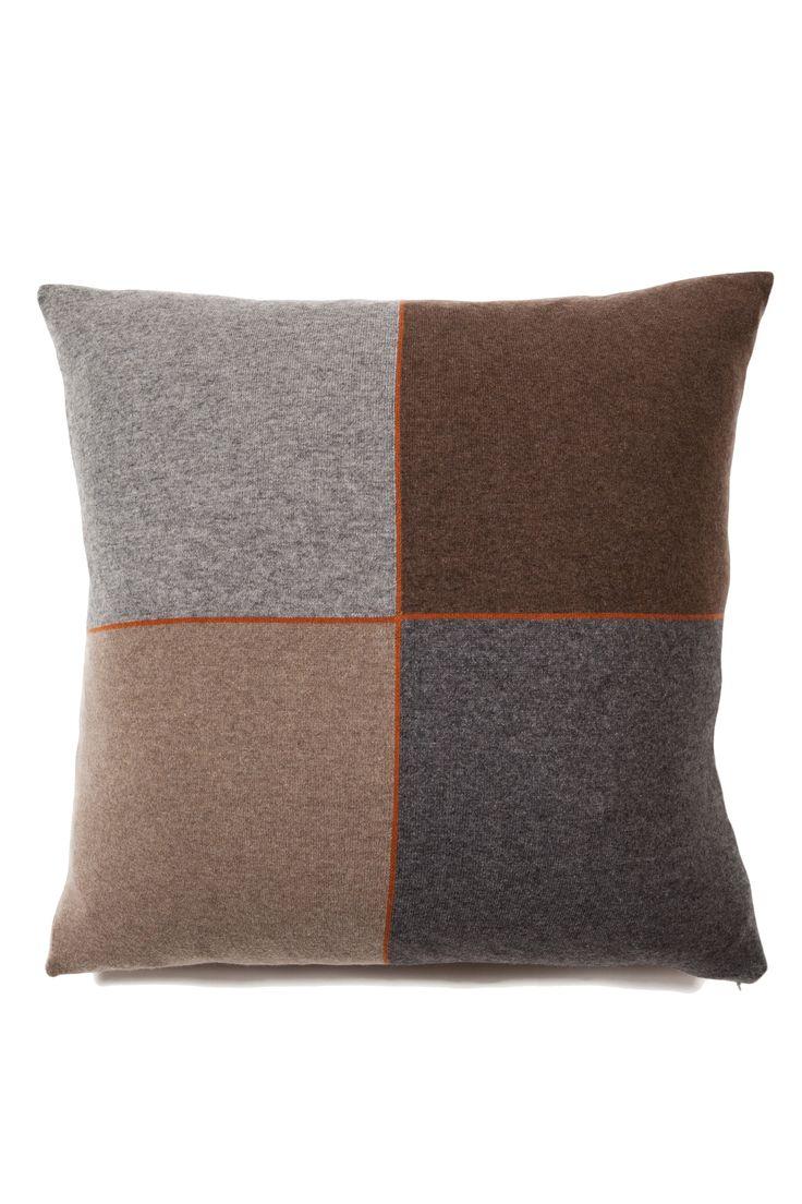 4 Checks Pillow