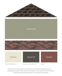 LP Fresh Color Palettes for brown roof/brick