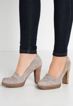 Pier One - Zapatos de plataforma - light grey