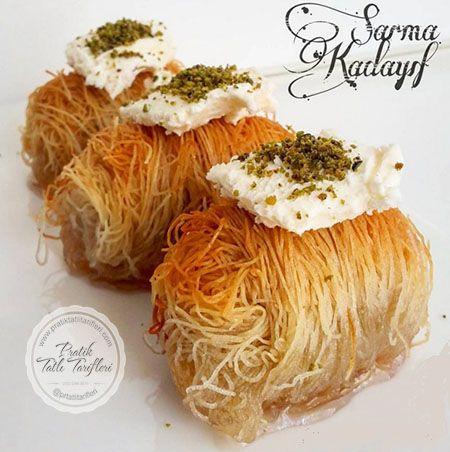 Ramazanda ve bayramda yapılabilecek şerbetli tatlıların en güzellerinden biri olup, üzerine bir de kaymak koyulduğunda nefis bir tatlıdır..