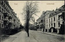 Ak Tilsit Sowetsk Kaliningrad Ostpreußen, Lindenstraße, Gebäude - 1141653