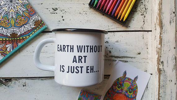 INSPIRATIONAL COFFEE MUG Custom Engraved Metal Cup Personal