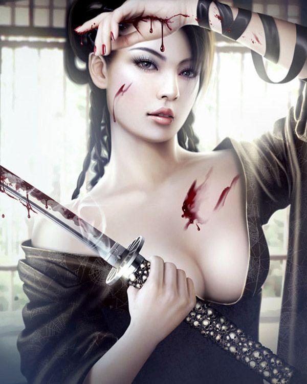 #Samurai #Assassin #Ninja #Sword #Women