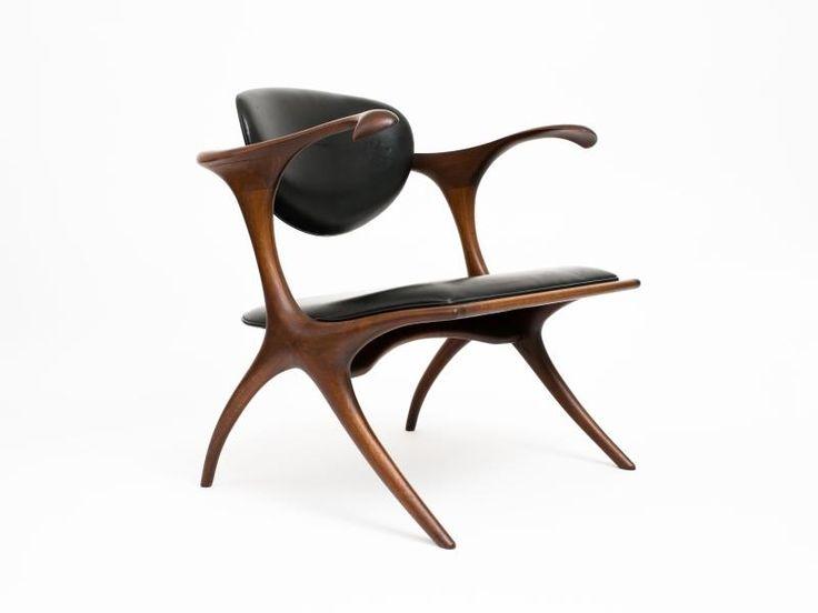 Evert Sodergren - Early and Rare Evert Sodergren 'Sculptured' Chair