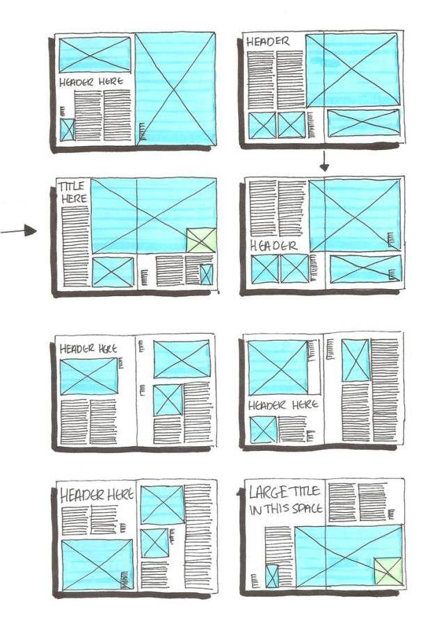 Exercice 2 - Référent mise en page layout