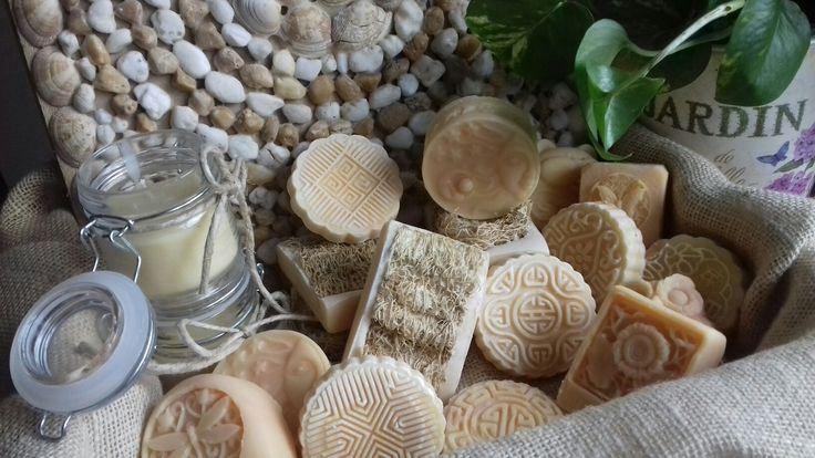 Sapone con Luffa interamente vegetale con olii essenziali di litsea cubeba e legno di cedro 😍