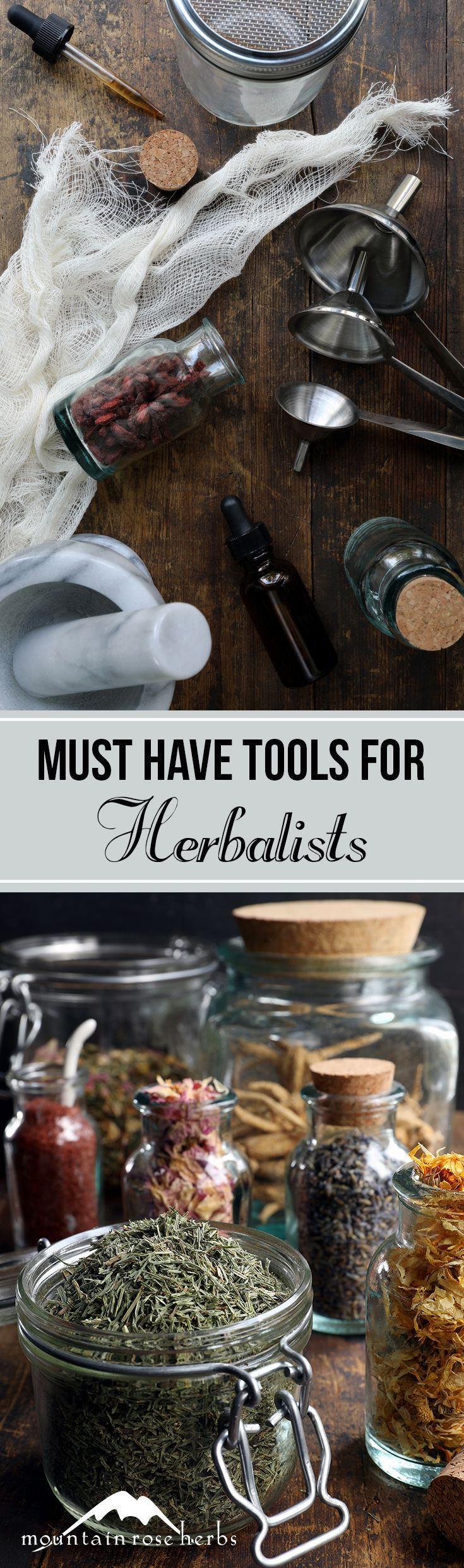 Must-have tools for starting your herbalism journey | Mountain Rose Herbs blog