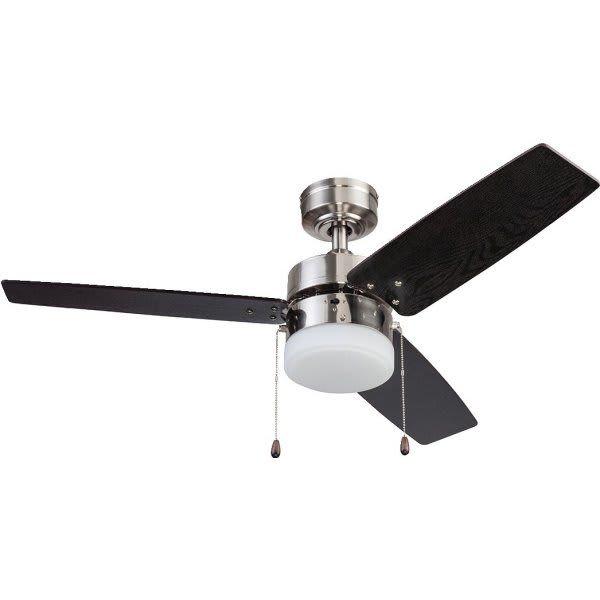 Seasons 42 Ceiling Fan Brushed Nickel Led Light Kit Hd Supply Ceiling Fan Led Bulb Brushed Nickel Ceiling Fan
