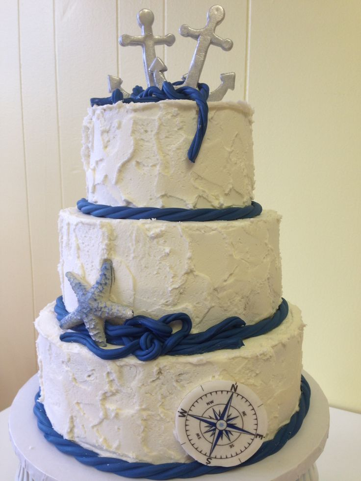 anchor themed wedding cakes 1000 ideas about nautical wedding cakes on 10748