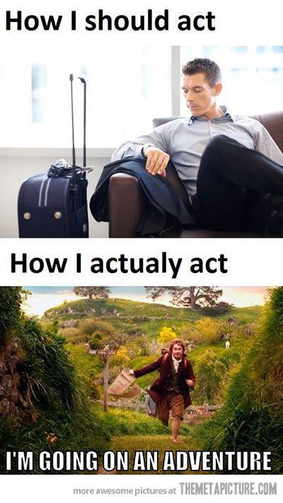 When I travel anywhere