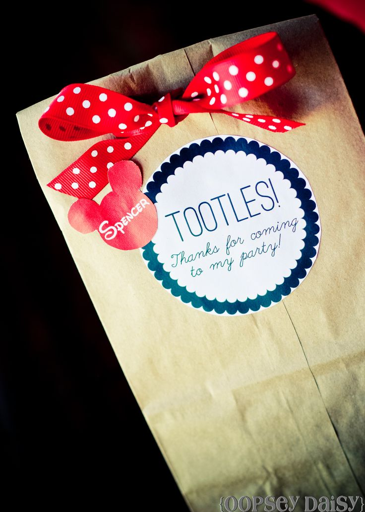 Mickey Gift Bags