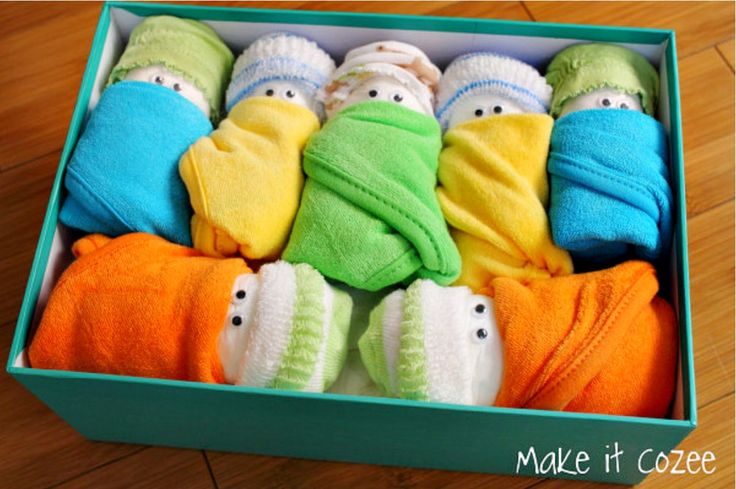 These Diaper Babies are totally adorable and will make a ly and much appreciated useful Baby Shower gift. We've included lots of easy versions for you to make so be sure to view them all and don't miss the adorable Cupcake Onesies and Washcloth Puppies!