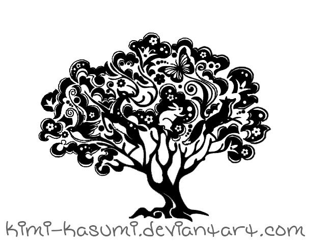 tree of life tattoo idea