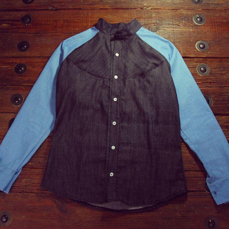 camisa manga rangla