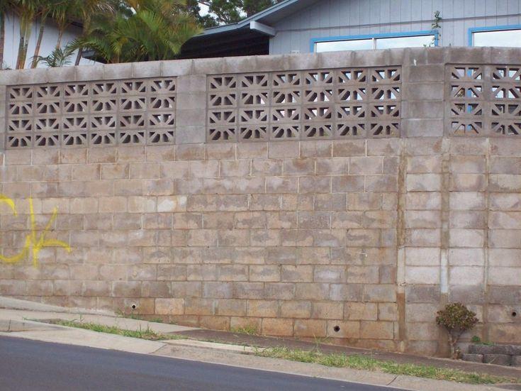 Cement block decorating in #Hawaii - Modern Design 1 in ...