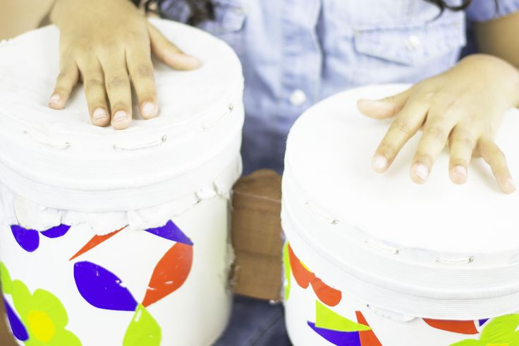 How to Make Bongo Drums for a School Project